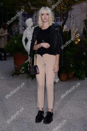 London, England 19th September 2016: Maddi Bragg at the Burberry Prorsum - Catwalk Show, During London Fashion Week S/s 2017 in London, England On the 19th September 2016.