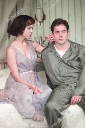 Stock Picture of Cat On A Hot Tin Roof Frances O'connell & Brendan Fraser