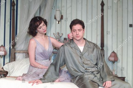 Cat On A Hot Tin Roof Frances O'connell & Brendan Fraser