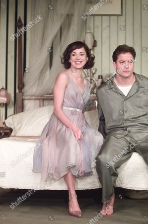 Editorial image of Cat On A Hot Tin Roof Frances O'connell & Brendan Fraser
