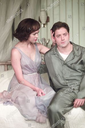 Stock Image of Cat On A Hot Tin Roof Frances O'connell & Brendan Fraser
