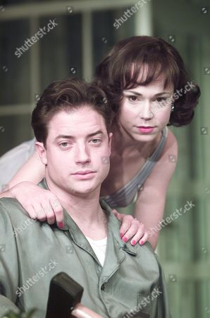 Stock Photo of Cat On A Hot Tin Roof Frances O'connell & Brendan Fraser