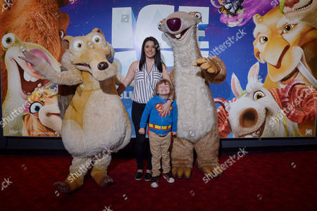 Editorial image of Celebrity Gala Screening of 'Ice Age Collision Course' On the 9th July 2016