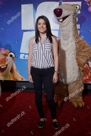 London, England, 9th July 2016 : Natalie Sawyer Attends the Celebrity Gala Screening of 'ice Age Collision Course' at the Empire Leicester Square, London, England On the 8th July 2016..