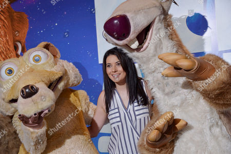 Editorial photo of Celebrity Gala Screening of 'Ice Age Collision Course' On the 9th July 2016