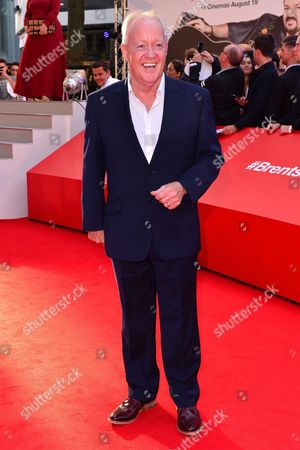 Stock Image of London, England 10th August 2016: Keith Chegwin at the David Brent Premiere in Leicester Square, London On the 10th August 2016.