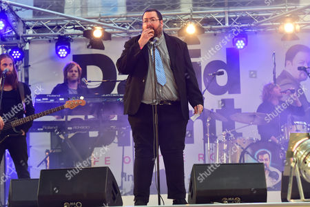 London, England 10th August 2016: Ewen Macintosh at the David Brent Premiere in Leicester Square, London On the 10th August 2016.