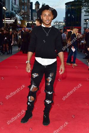 London UK 26th Sept 2016: Marcus Collins at the Deep Water Horizon Film Premiere at the Cineworld Leicester Square, London. September 26, 2016 London UK
