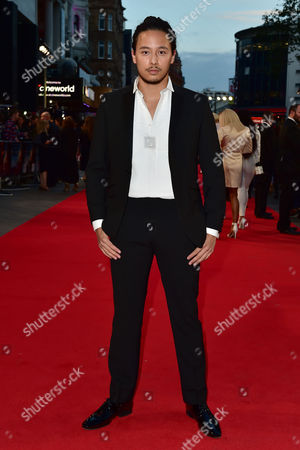 London UK 26th Sept 2016: Mason Noise at the Deep Water Horizon Film Premiere at the Cineworld Leicester Square, London. September 26, 2016 London UK