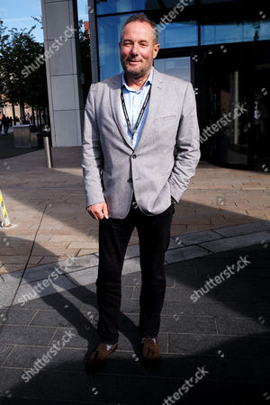 Stock Photo of Liverpool, UK, 27th September 2016: Derek Hatton Leaves the Hilton Hotel After Having Lunch with Len Mccluskey in Liverpool On the 27th September 2016.
