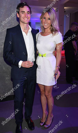 London, England 7th September 2016: Fawn James with Her Husband Nick Lawson Attends the Evening Standard Progress 1000 Awards Party at the Science Museum Exhibition Road West London.