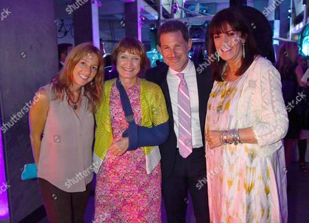 London, England 7th September 2016: Mrs Josh Berger, Tessa Jowell , Josh Berger & Dame Gail Rebuck Attends the Evening Standard Progress 1000 Awards Party at the Science Museum Exhibition Road West London.