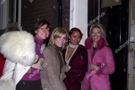 First Night Cast Change For 'The Graduate' at the Gielgud Theatre with Afterparty at Sugar Reef Miss Dee Michelle Collins Deborah Anderson and Tamara Beckwith