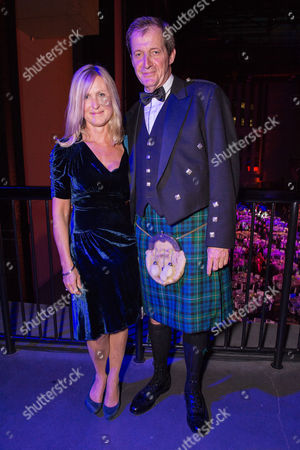London, England 6th September 2016: Alastair Campbell with Wife Fiona Millar at the Gq Men of the Year Awards in Association with Hugo Boss Held at the Tate Modern On the Southbank in London On the 6th September 2016.