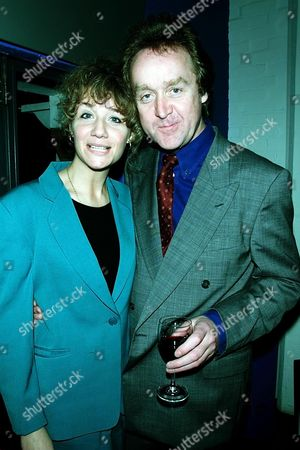 J Party to Launch 'Others' A New Triler by James Herbert at the Oxo Tower Resturant Pix Shows Steffani Pitt Daughter of Ingrid Pitt with Her New Fiance Barrister Arther Blake They Are Going to Marry in Venice in September They Have Been Together 4 Years