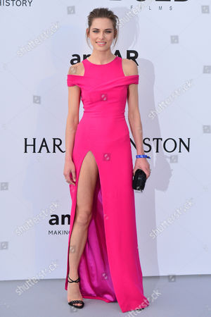 Cannes France 19th May 2016: Lana Zakocela at the Amfar Cinema Against Aids Gala During the 69th Annual Cannes Film Festival at Palais Des Festivals On the 19th May 2016 in Cannes, France.