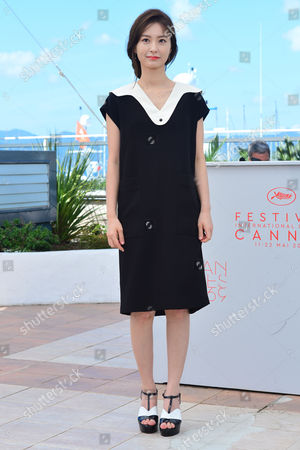 Cannes France 14th May 2016: Actress Jung Yu-mi at the 'Train to Busan (bu_san-haeng)' Photo-call During the 69th Annual Cannes Film Festival On May 14, 2016 in Cannes, France.