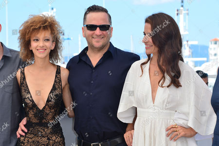 Cannes France 15th May 2016: Mili Eshet, Alon Pdut and Shiree Nadav-naor at the 'beyond the Mountains and Hills' Photo-call During the 69th Annual Cannes Film Festival at the Palais Des Festivals On the 15th May 2016 in Cannes, France.