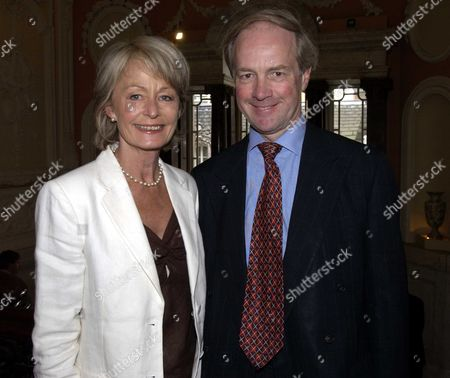 Launch Party at the English Speaking Union Dartmouth House Mayfair London Uk For Simon Sebag Montefiore New Book 'Stalin the Court of the Red Tsar' Peter Lilley Mp with His Wife