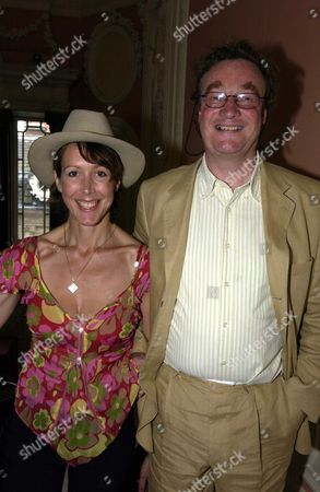 Launch Party at the English Speaking Union Dartmouth House Mayfair London Uk For Simon Sebag Montefiore New Book 'Stalin the Court of the Red Tsar' Christopher Simon Skyes with His Wife