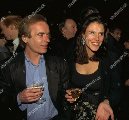 Martin Amis Book Party at Cobham Working Mans Club Martin Amis and Isabel Fonseca