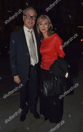 Michael Spencer's Election Night Party at Scott's in Mount Street Mayfair London Lord Tim Bell and His Partner Jackie Phillips