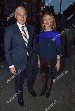 Michael Spencer's Election Night Party at Scott's in Mount Street Mayfair London Peregrine & Sarah Armstrong-jones