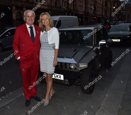 Michael Spencer's Election Night Party at Scott's in Mount Street Mayfair London Lord Paul Myners & Lady Alison Myners