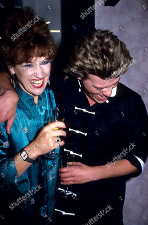 Opening Party For 'Dynasty' A New Chinese Restaurant Anita Dobson and Nick Staverson