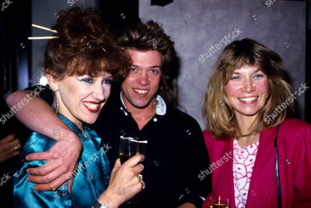 Opening Party For 'Dynasty' A New Chinese Restaurant Anita Dobson with Nick Staverson