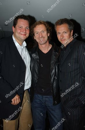 Premiere of 'Supersize Me' at the Curzon Mayfair with the Afterparty at Zeta Bar Park Lane Hilton Joe Wadsack Paul Rankin and Nick Nairn