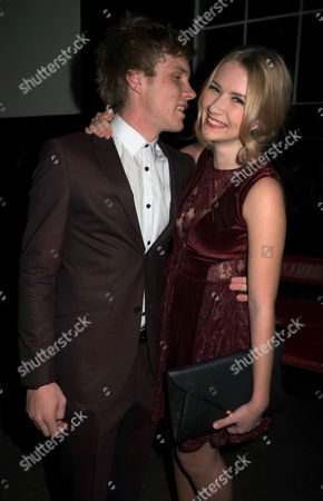 Press Night of Loserville at the Garrick Theatre and After Party at the National Gallery Cafe Charing Cross Road Westminster London Richard Lowe & Eliza Hope Bennett