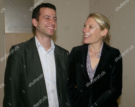Reopening Party For the Whitechapel Gallery Whitechapel Aldgate East London Matthew Slotover with His Wife Emily King