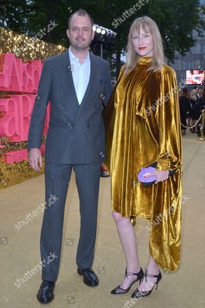 London, England, 29th June 2016: Jack Dyson and Jade Parfitt at the 'Absolutely Fabulous: the Movie' World Premiere at Odeon Cinema in Leicester Square, London On the 29th June 2016.