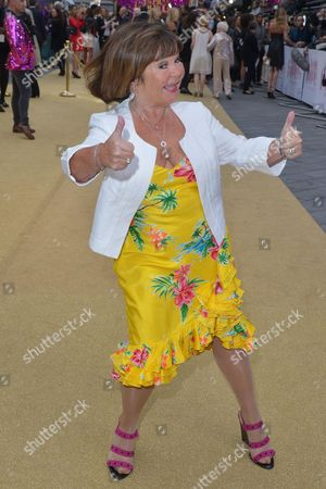 London, England, 29th June 2016: Janette Tough at the 'Absolutely Fabulous: the Movie' World Premiere at Odeon Cinema in Leicester Square, London On the 29th June 2016.