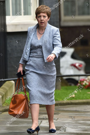 London, England 26th June 2016 - Leader of the House of Lords Baroness Stowell at the 1st Cabinet Meeting Since the Eu Vote at Number 10 Downing Street in London On the 27th June 2016.