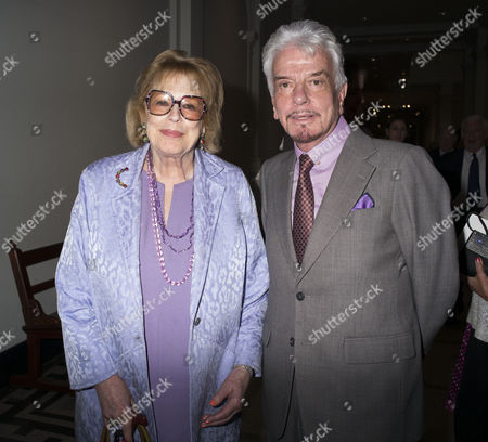 London, England 26th June 2016 - Lady Antonia Fraser & Nicky Haslam at a Celebration of the Life of Lord George Weidenfeld St the Victoria & Albert Museum On Brompton Road in West London On the 26th June 2016.