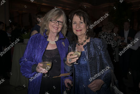 London, England 26th June 2016 - Lady Cate Bragg and Baroness Helena Kennedy at the Victoria & Albert Museum On Brompton Road in West London On the 26th June 2016.