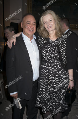 London, England 26th June 2016 - Leonard Blavatnik and Lady Annabel Weidenfeld at a Celebration of the Life of Lord George Weidenfeld St the Victoria & Albert Museum On Brompton Road in West London On the 26th June 2016.