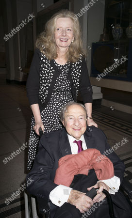 London, England 26th June 2016 - Annabel Weidenfeld & Menahem Pressler at the Victoria & Albert Museum On Brompton Road in West London On the 26th June 2016.
