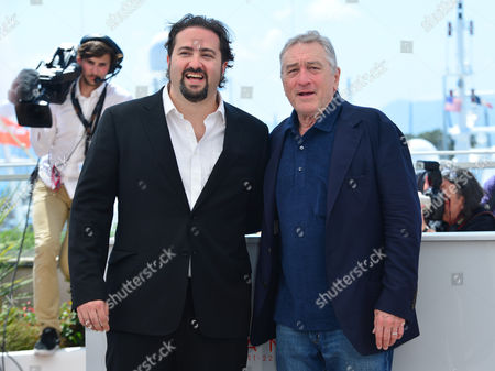 Cannes France 16th May 2016: Director Jonathan Jakubowicz and Robert De Niro Attends 'Hands of Stone' Photocall During the 69th Annual Cannes Film Festival On May 16, 2016 in Cannes, France.