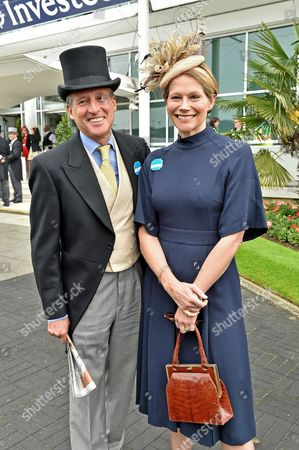 Epsom UK 4th June 2016: Lord Coe and Lady Coe at Derby Day at Epsom Downs at Epsom Race Course Epsom Surrey 4th June 2016