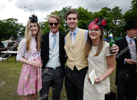Editorial picture of Shm: Ladies Day at Royal Ascot 2016 June 15th
