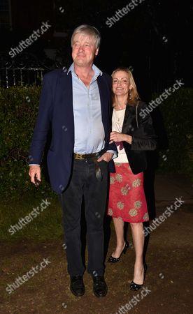 London UK 21st June 2016: Henry Somerset, Marquess of Worcester at Lady Annabel Goldsmith's Summer Party Ham Gate Richmond Park Twickenham London 21st June 2016
