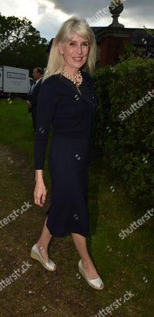 London UK 21st June 2016: Selina Scott at Lady Annabel Goldsmith's Summer Party Ham Gate Richmond Park Twickenham London 21st June 2016