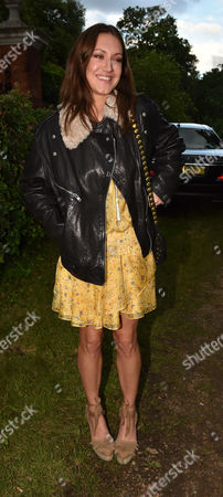 London UK 21st June 2016: Mary-clare Winwood, at Lady Annabel Goldsmith's Summer Party Ham Gate Richmond Park Twickenham London 21st June 2016