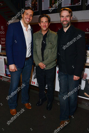London, England, 14th July 2016: Alex Gaumond, Christien Anholt, Paul Herzberg, Martin Fisher Attend the Press Night for 'The Trial of Jane Fonda' at the Park Theatre, Finsbury Park On the 14th July 2016