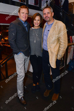 London, England, 14th July 2016: Anne Archer, Terry Jastrow and Director Joe Harmston Attend the Press Night for 'The Trial of Jane Fonda' at the Park Theatre, Finsbury Park On the 14th July 2016