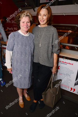London, England, 14th July 2016: Imelda Staunton, Anne Archer Attend the Press Night for 'The Trial of Jane Fonda' at the Park Theatre, Finsbury Park On the 14th July 2016