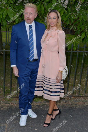 London, England, 6th July 2016 : Boris Becker, Lily Becker at the Serpentine Gallery Annual Summer Party in London, England On the 6th July 2016..